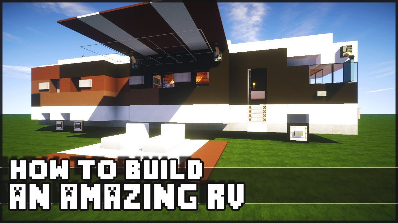 ▻ Minecraft : How to Make - Epic RV! - YouTube