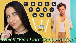 """Harry Styles """"Fine Line"""" as Zodiac Signs 