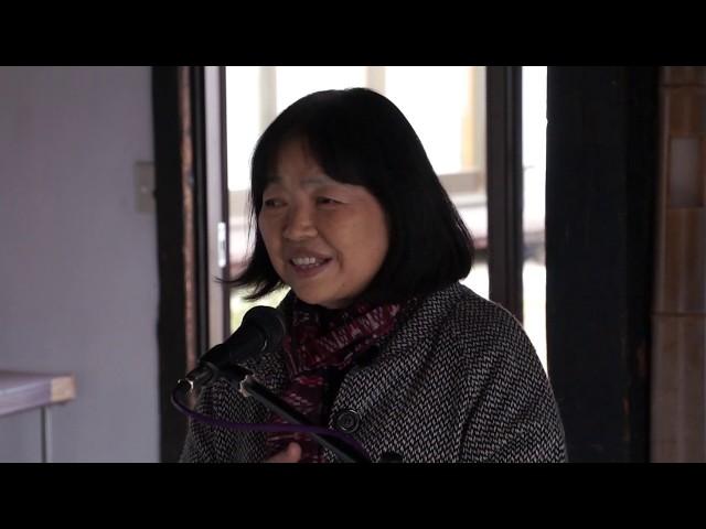 草薙静子[今日の反核反戦展2018:リレートーク]