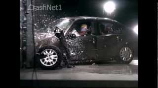 Honda Civic | 2005 | Frontal Small Overlap into Pole Crash Test | NHTSA | CrashNet1