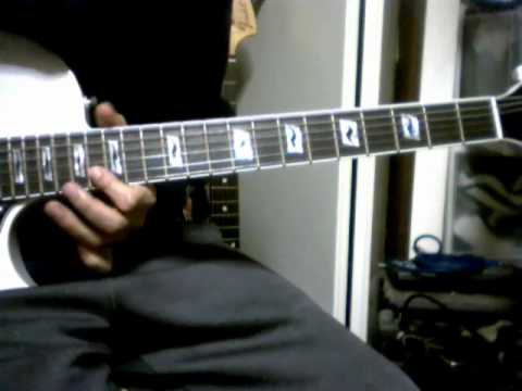 guitar chord demo Roxy Music - Angel Eyes