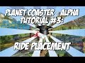 Planet Coaster - Alpha: Ride Placement T