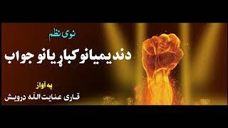 Nadeemyano ta new jawab 2018 nazam anayat darwish (pashto nazam )