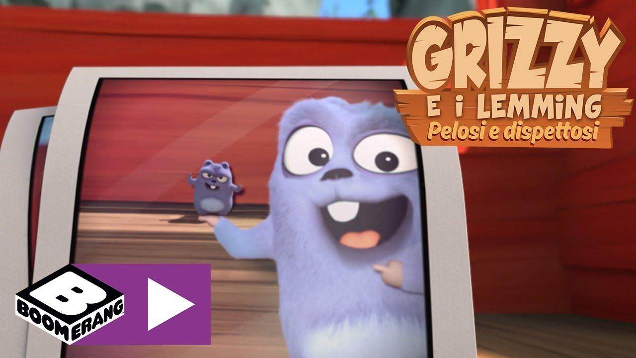 Download La macchina fotografica | Grizzy e i Lemming | Boomerang
