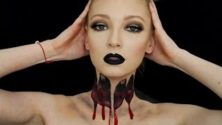 BEHEADED ILLUSION | FANCY DRESS | HALLOWEEN | MAKEUP TUTORIAL|