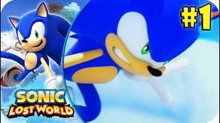 Sonic Lost World |WiiU| #1- Mundo 1 (Parte 1). [HD] (Español)