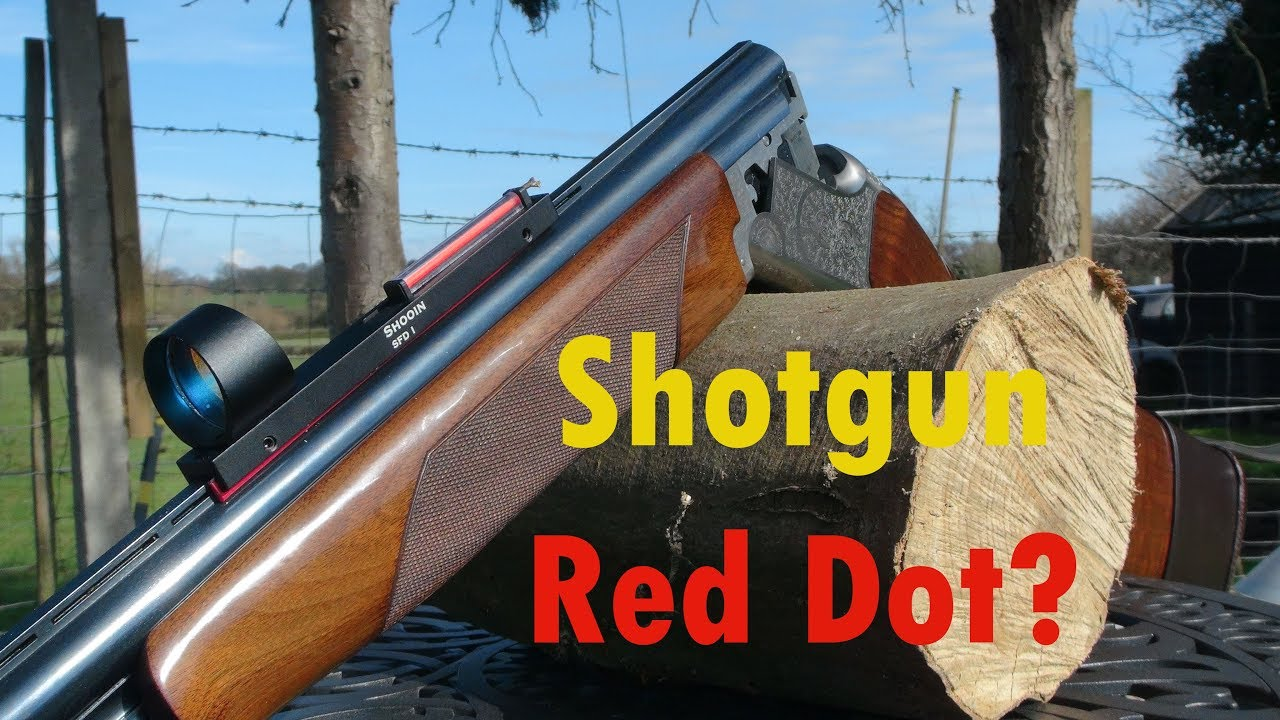 Red Dot on a Shotgun?
