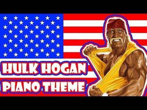 Hulk Hogan plays the piano!