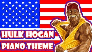 "Hulk Hogan plays the piano! ""Real American"""