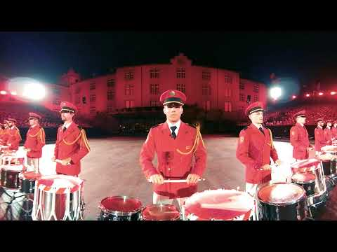 Show Basel Tattoo 2018 - Swiss Army Central Band
