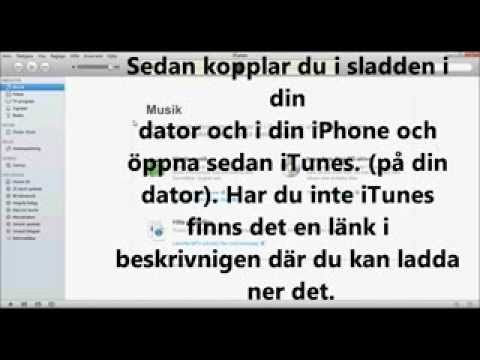 Get music to a iPhone (from a computer) Swedish