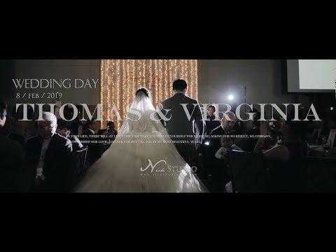 [婚禮錄影] 萬豪酒店 Thomas & Virginia 結婚/宴客/SDE