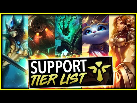 THE ABSOLUTE BEST SUPPORTS IN PATCH 10.6 - League Of Legends