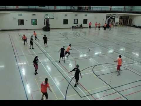 University of Maine at Presque Isle Ultimate Disc Orange vs Black 2017