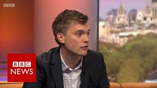 'Alt left sites reaching as many as traditional media on social media' BBC News