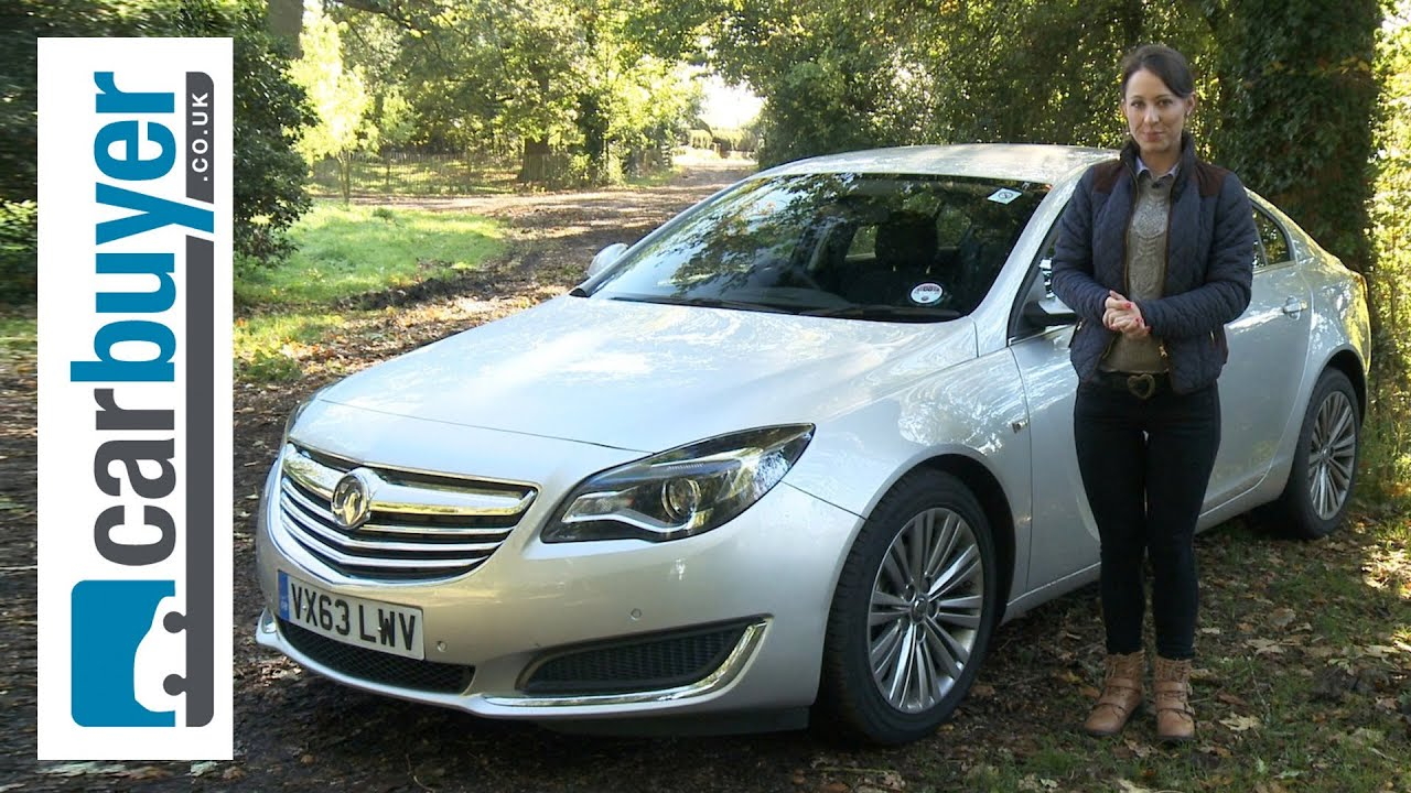 Vauxhall Insignia hatchback review  CarBuyer  YouTube