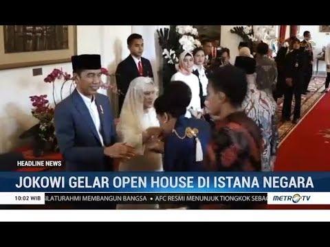 Jokowi Gelar Open House Di Istana Negara