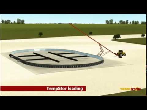 TEMPORARY STORAGE ASSEMBLY - Modular Grain Storage System