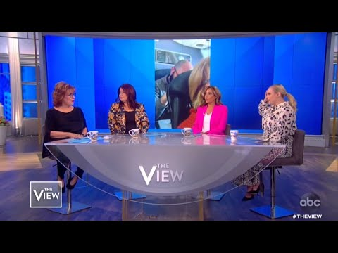 Passenger Punches Woman's Seat | The View