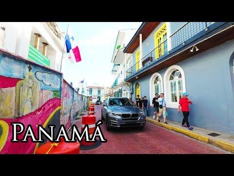(2) Walking Panamá City Dec 2017 - Casco Viejo (Old Quarter) 4K