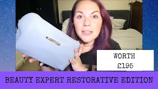 BEAUTY EXPERT RESTORATIVE EDITION UNBOXING - WORTH £195