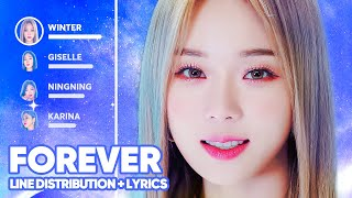 aespa - Forever 약속 (Line Distribution + Lyrics Color Coded) PATREON REQUESTED