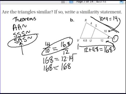 AA,SSS and SAS similarity. Warm Up Solve each proportion If ∆QRS ...