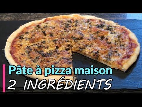 pâte-à-pizza-maison-2-ingrédients---recette-facile-de-pizza-maison
