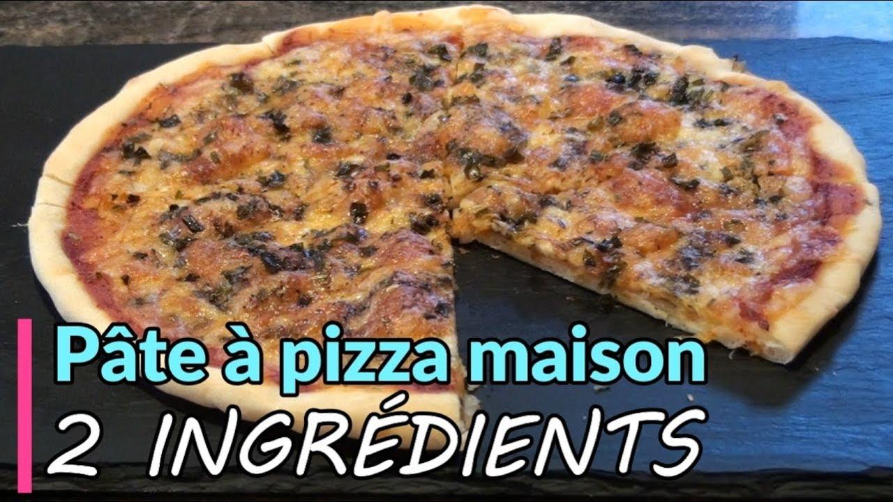 Pâte à pizza maison 2 ingrédients - Recette facile de ...