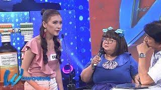 Wowowin: Babaeng modelo, may matinding hugot para sa kanyang mga manliligaw
