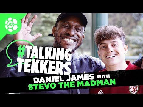 Daniel James of Wales and Manchester United #TalkingTekkers with Stevo The Madman
