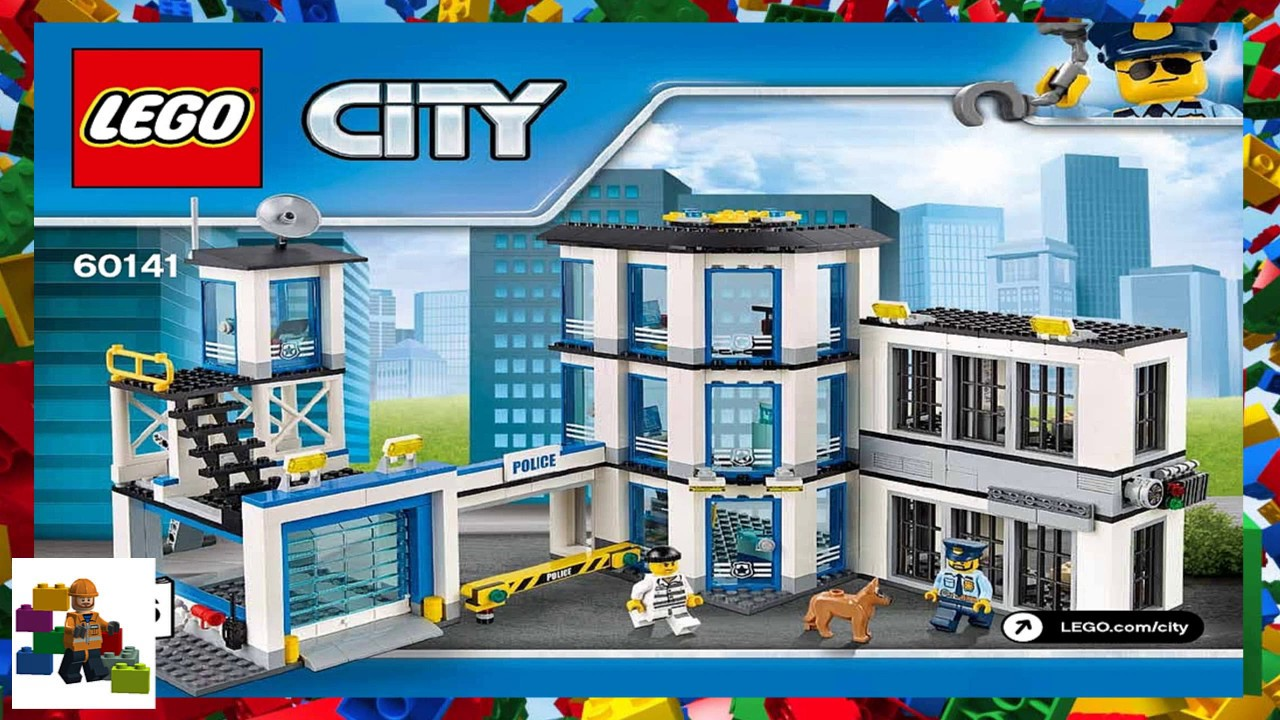 LEGO instructions - City - Police - 60141 - Police Station ...