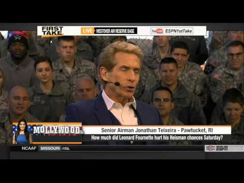 Espn First Take [11/9/2015] Fans Ask Skip Bayless and ...