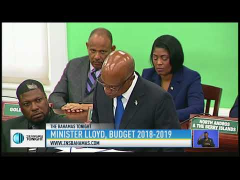 MIN. OF EDUCATION 2018/2019 BUDGET CONTRIBUTION