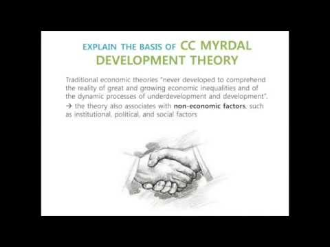 Myrdal's Development Theory