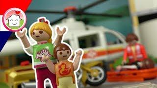 Playmobil filmpje Nederlands Het verkeersongeval - Familie Huizer Films voor kinderen