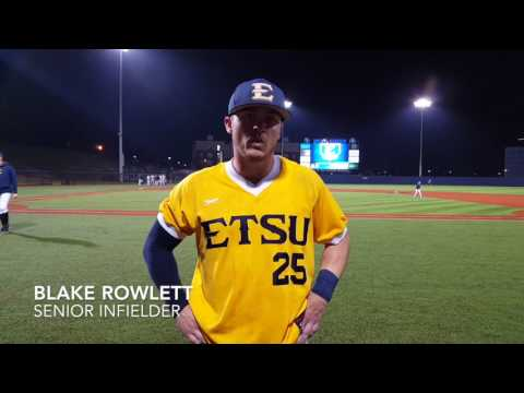 ETSU Baseball Post Game Interviews Feb. 22, 2017