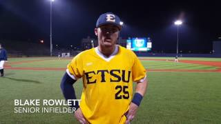 ETSU Baseball Post Game Interviews Feb. 22, 2017