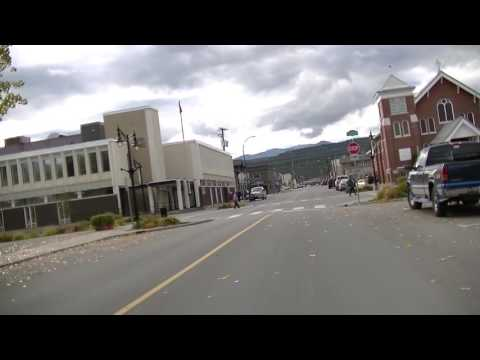Driving in Cranbrook BC (British Columbia) Canada - Drive in Town