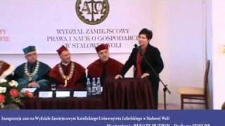 Występienie Renaty Butryn Posła na Sejm RP - KUL WZNoS w Stalowej Woli