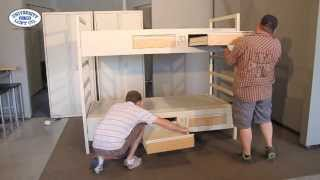 Metal Bunk Bed Assembly (short)
