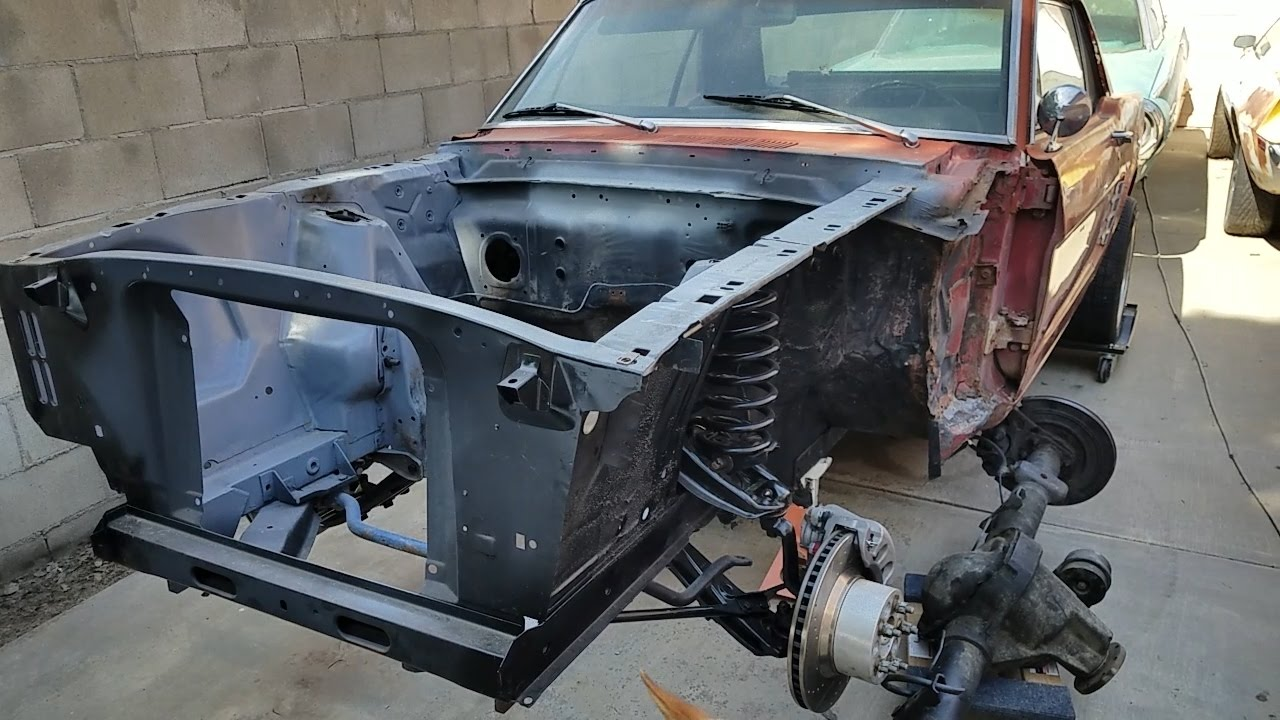 66 Mustang Steering Box