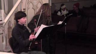 A Christmas with Strings, Cindy Brosman and Camden Williams