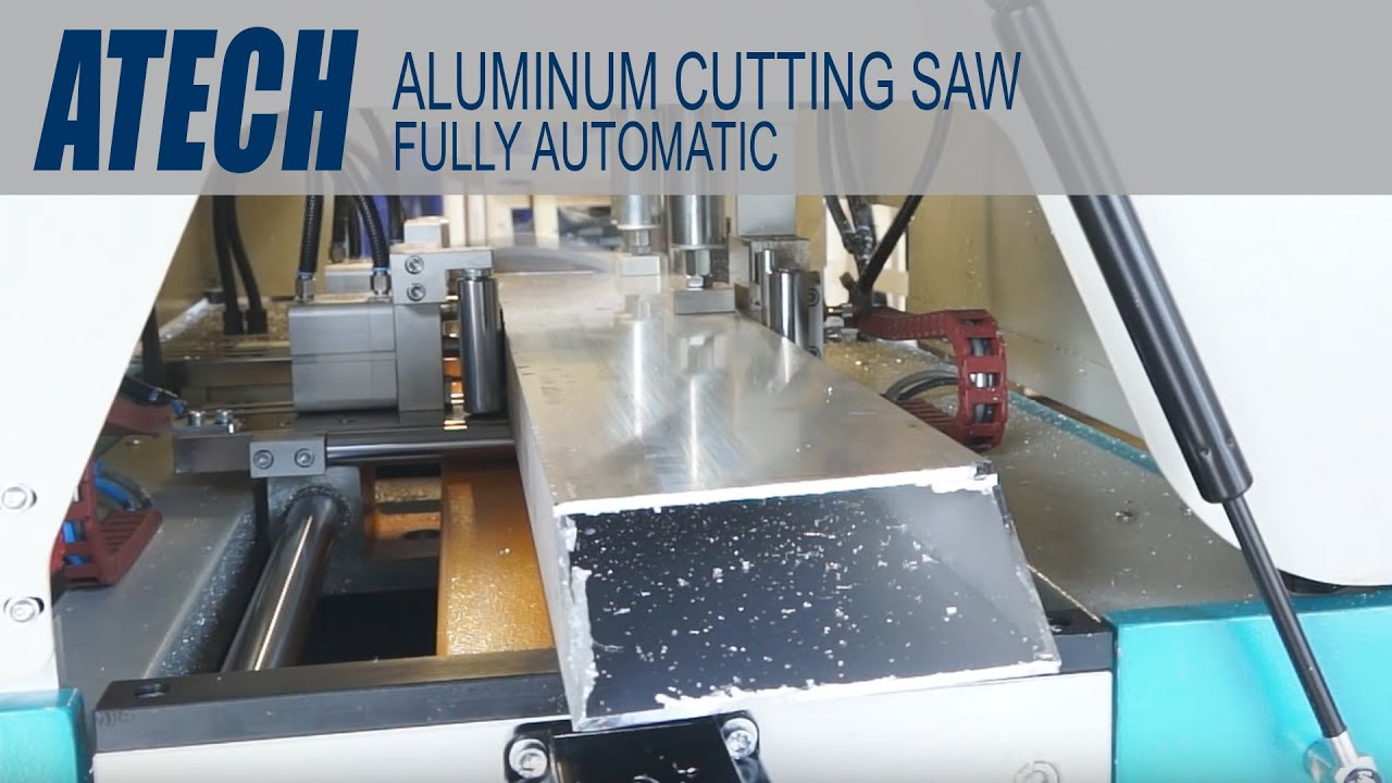 Fully Automatic Aluminum Cutting Saw Youtube