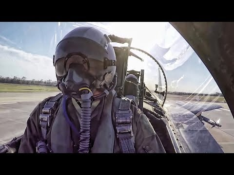 F-15E Strike Eagles • Pilot Prep & Preflight + Takeoffs