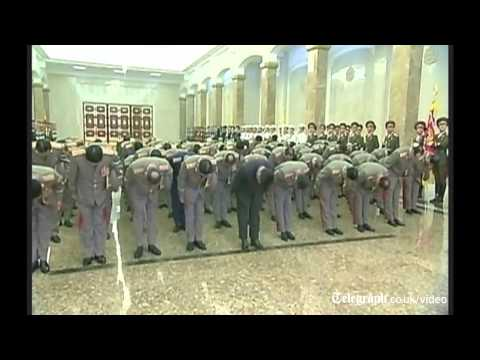 Kim Jongun seen 'limping' on state TV