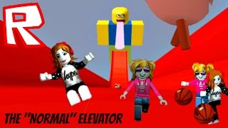 Roblox The Normal Elevator, Poop, Slime, Funny!, Lily et Gia Play Roblox, PTRC