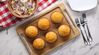 Pulled Pork-Stuffed Cornbread Muffins