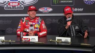 Full Kyle Busch Bristol Victory Press Conference