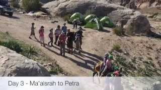 Is Jordan Safe to visit? Not really ... check out this hike through the Jordanian mountains.